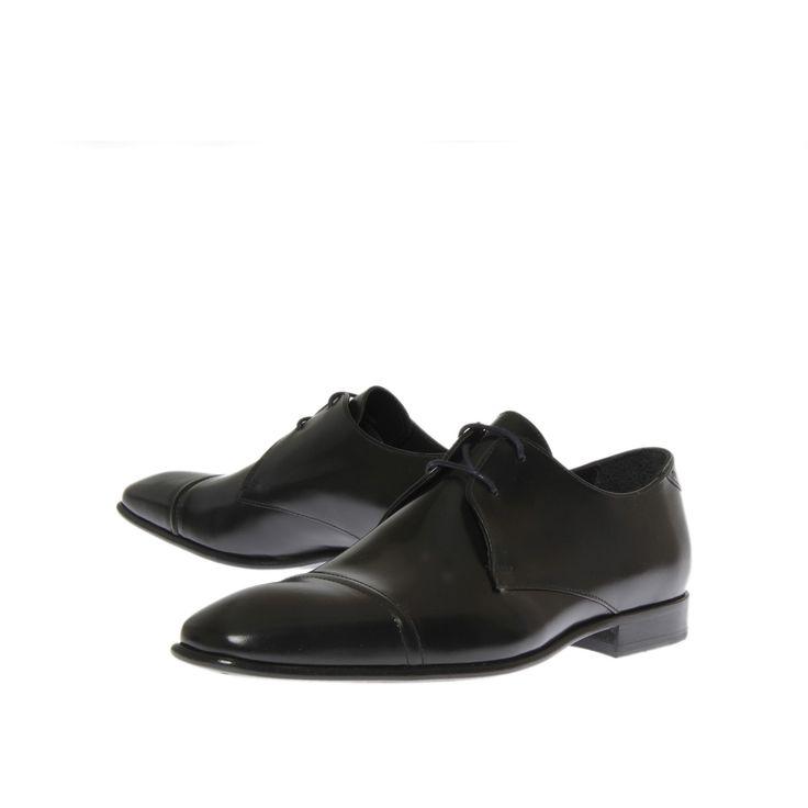 Chaussures Oxford à lacets en cuir poli350.00BOSS iuqUMOUv3
