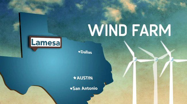 Candy maker MARS to build a wind farm massive enough to fully power its 37 US factories May 2, 2014 Construction of the Texas wind farm will begin at the end of 2014, with about 10 turbines going up each week. It should be finished and fully operational by mid-2015.