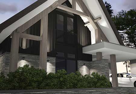 Villa B3 - interior   architecture   totaal concepten   interieur   tuinplan - Marco van Veldhuizen