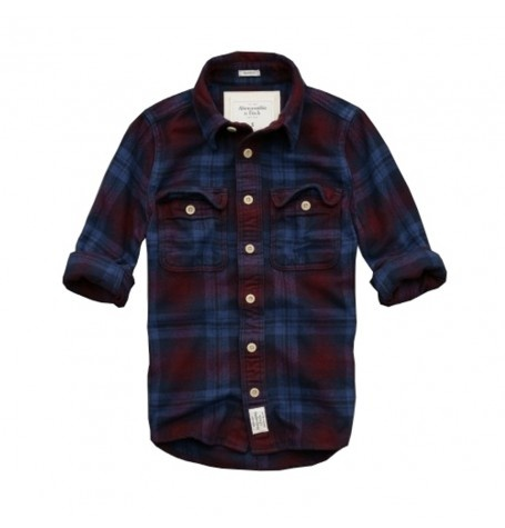 Abercrombie & Fitch men's Lake Harris Flannel shirt