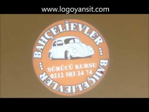 Logo Yansıt Dış Ortam Dönen Logo Yansıtıcı Sürücü kursu Uygulama videosu - YouTube