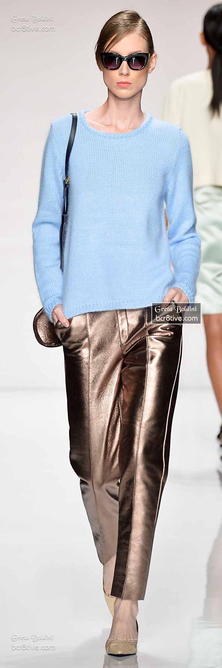 Metallic Pants -