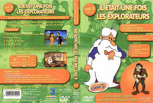 il etait une fois les explorateurs - Dvd Volume 03