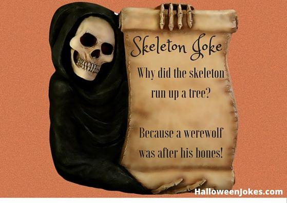 Skeleton Jokes 9 - Halloween Humor