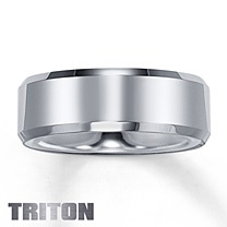 Triton Tungsten Carbide Band for Him