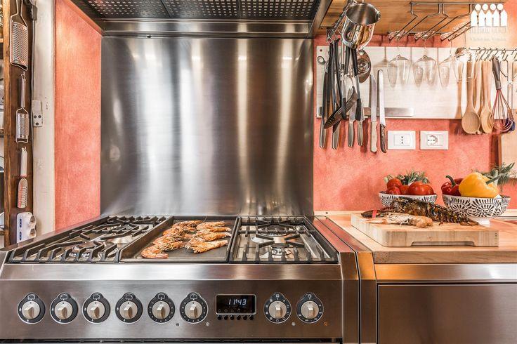 The perfect kitchen (Ca' Via Della Seta) for the perfect dinner.