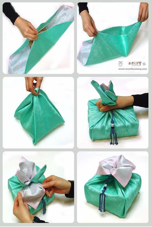 Use Of Bojagi On A Dol Table Korean 1st Birthday
