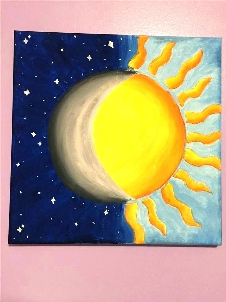 Pin by Kandace on DIY in 2019  Simple acrylic paintings