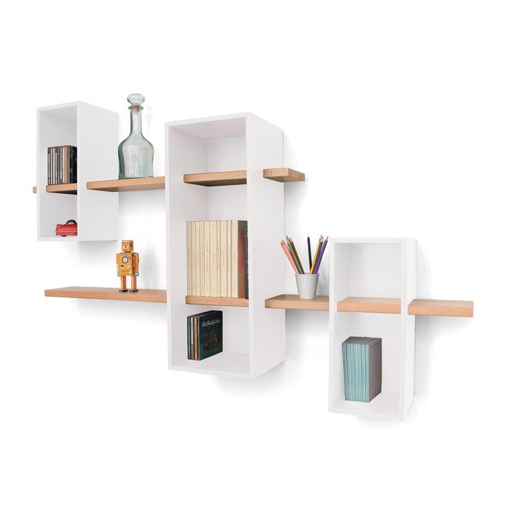 Die besten 25+ Regal buche Ideen auf Pinterest Holzlege - designer mobel bucherregal