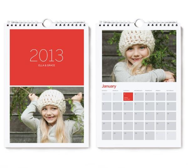 Mini Photo Wall Calendar