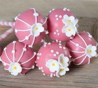 Roze cake pops - Cake pops - Recepten | Deleukstetaartenshop.nl