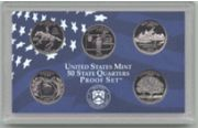 1999-S 5 Coin Statehood Quarters Proof Set