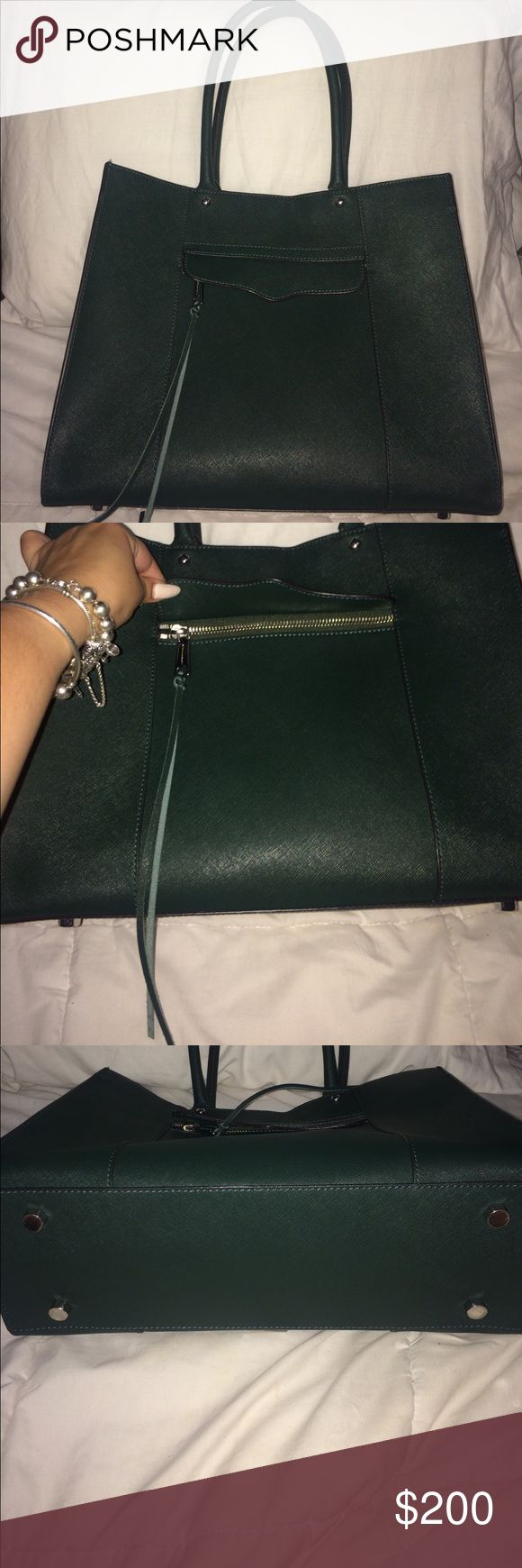 Rebecca minkoff purse Rebecca minkoff purse// forest green color // great condition no flaws will applied more pics if needed Rebecca Minkoff Bags