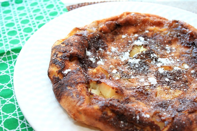 Puffy Oven Apple Pancake | Indulge | Pinterest