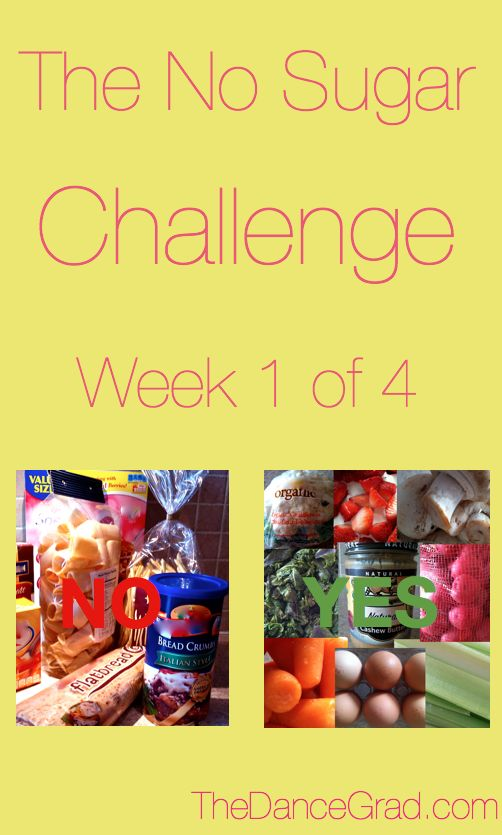 Sugar Withdrawal Symptoms| The No Sugar Challenge | The Dance Grad