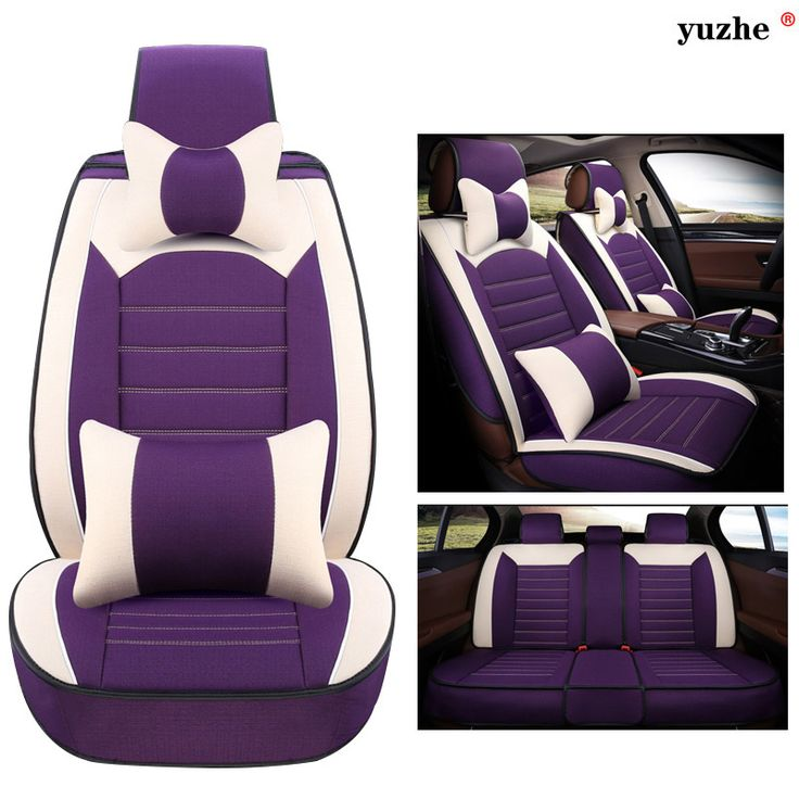 2011 Lincoln Mkt Interior: Yuzhe Linen Car Seat Cover For Honda Accord FIT CITY CR-V