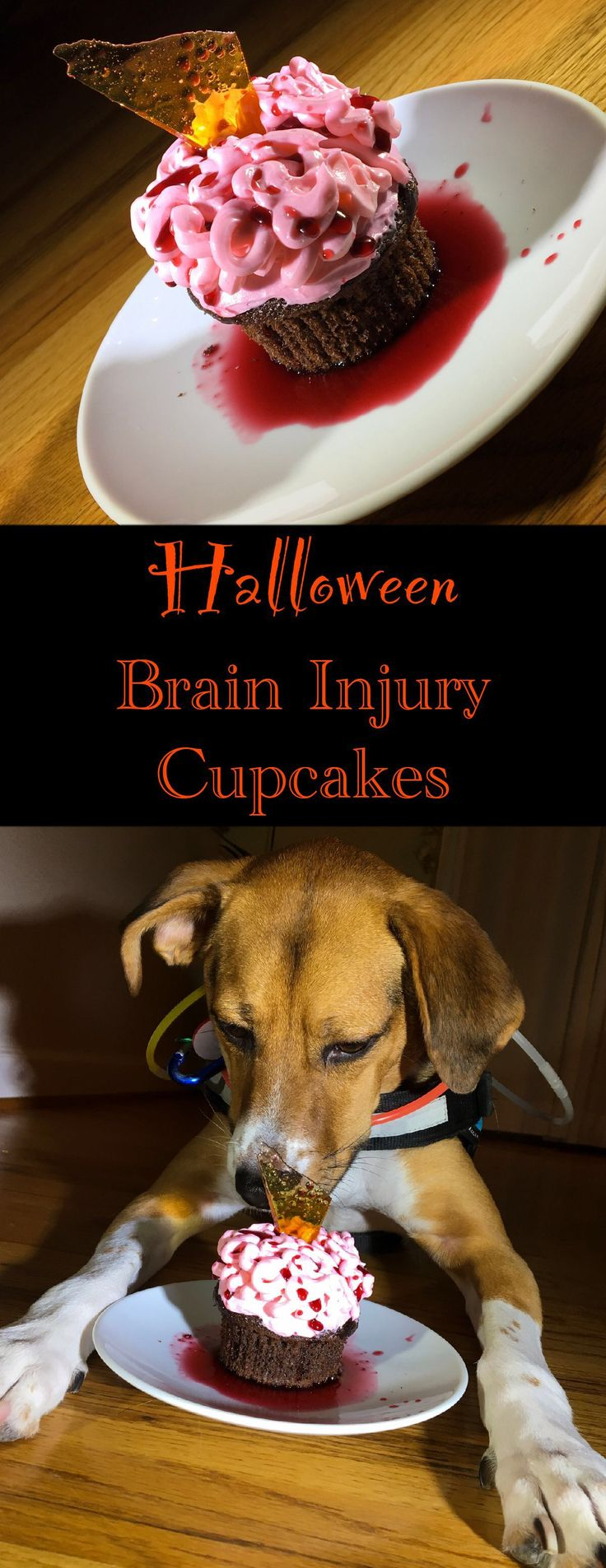 vertical pin for brain cupcakes
