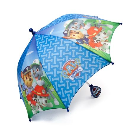 Shop for Paw Patrol Umbrella in Multi at Journeys Kidz. Shop today for the hottest brands in mens shoes and womens shoes at JourneysKidz.com.If you get caught in rain, the Paw Patrol has you covered! The Paw Patrol Umbrella features character graphic panels and text logo with hook and loop strap closure, and character themed handle.