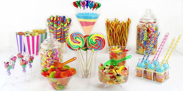 Rainbow Candy Buffet | Asda Party