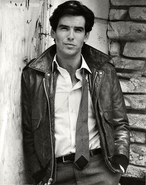 "Pierce Brosnan. He was about this young when I saw him for the first time in ""Manions of America.""  He played Rory.  How's that for a memory?  Some men you just don't ever forget!!"