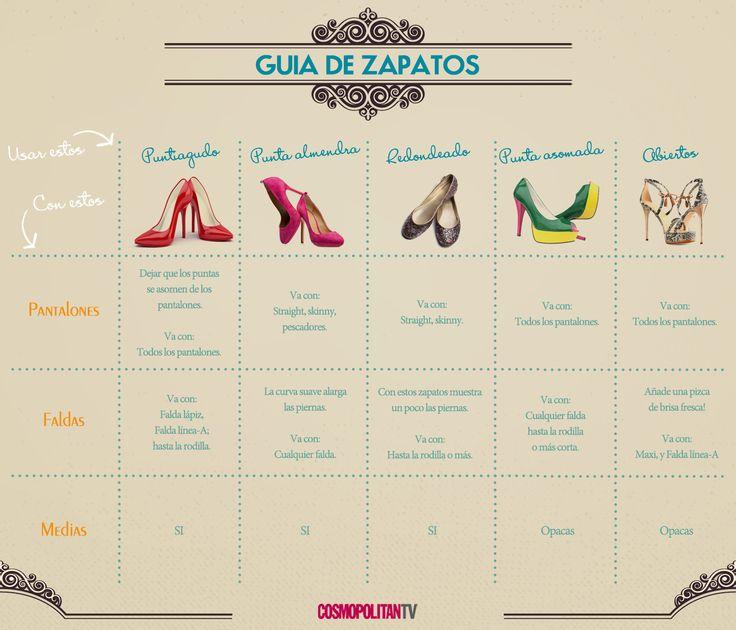 ¡Guía de zapatos! #MuyÚtil