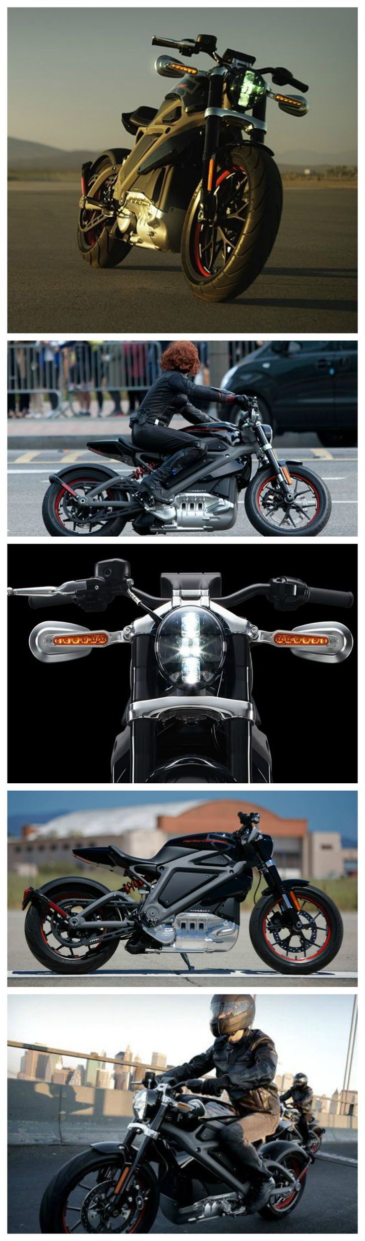 Electric Harley Davidson Motorcycle - Want one :)