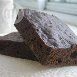 Chocolate Prune Brownies