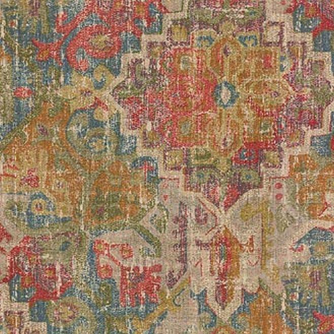 Waverly PRADESH PALACE C MASALA 679640 - DecorativeFabricsDirect.com