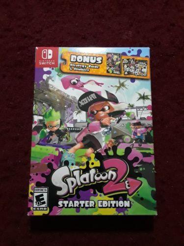splatoon 2 starter edition pre order