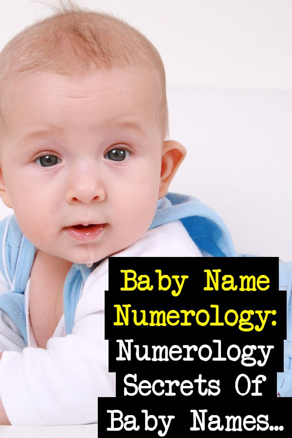 Numerology Secrets Of Baby Names