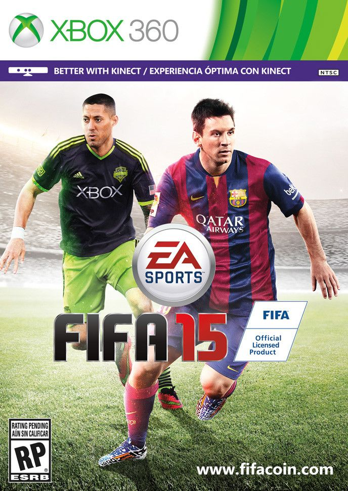 FIFA 15 NORTH AMERICAN COVER - FIFA 15 hits stores on September 23 in North America. Previously, we revealed the global cover of our game, featuring FC Barcelona's Lionel Messi. WHERE TO BUY FIFA COINS - www.fifacoin.com Today, we are proud to announce that Seattle Sounders and US Men's National Team Captain Clint Dempsey will join Messi on the FIFA 15 cover for the United States & Canada.