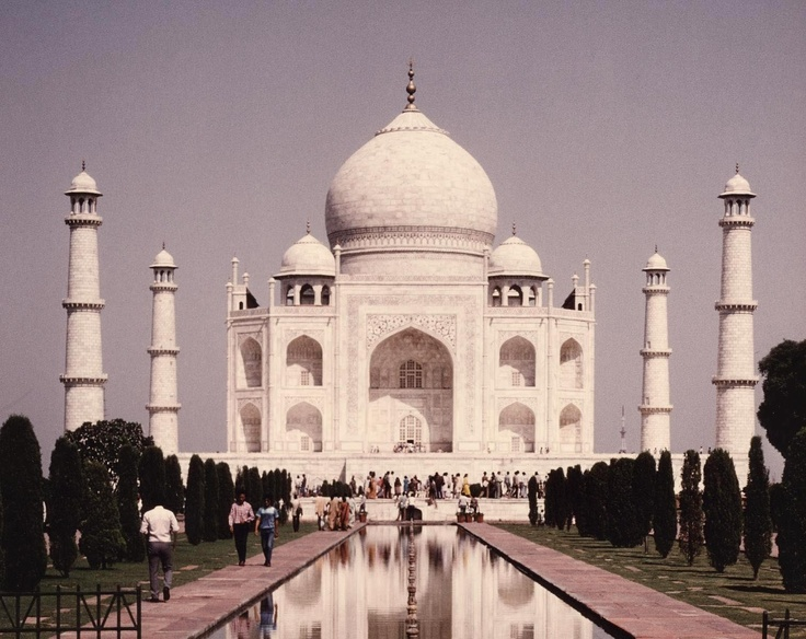 Taj Mahal, Agra, India-what a site to see.