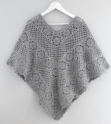 Made by me: Heklet poncho