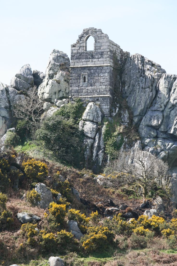 Roche Rock, Roche, near St.Austell. Once it was a hermits home;photo by www. DWphotography.folksy.com
