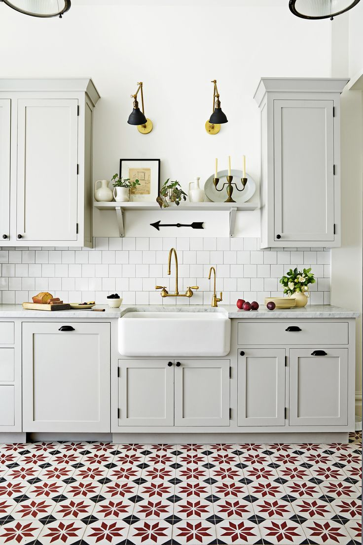 Love these statement kitchen floor tiles? Check out more of our favorite kitchen design trends for 2017.