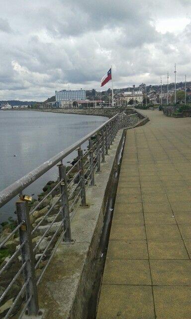 Costanera de Puerto Montt. Chile