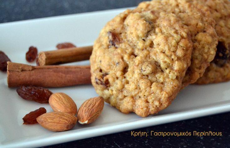 Νηστίσιμα μπισκότα βρώμης - Κρήτη: Γαστρονομικός Περίπλους