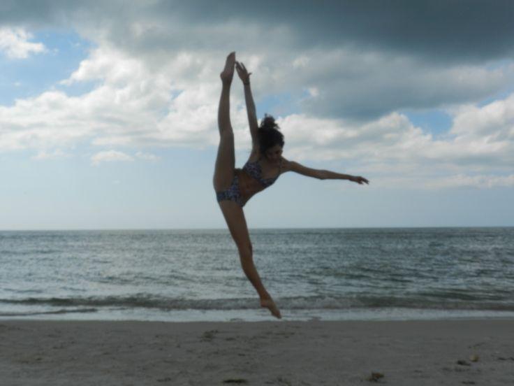 tilt jump...dancing on the beach!