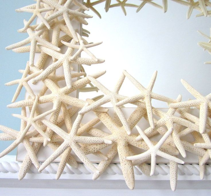 White Starfish Mirror 3