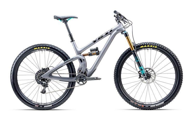 YETI SB5.5c Carbon Mountainbike Silver X01 2017 - Rider-Store - Die ganze Welt der Bikes & Parts - Mountainbikes, MTB Rahmen und Mountainbike Zubehör von namhaften Herstellern wie Ghost, Pinarello, Yeti, Niner, Mavic und Fox