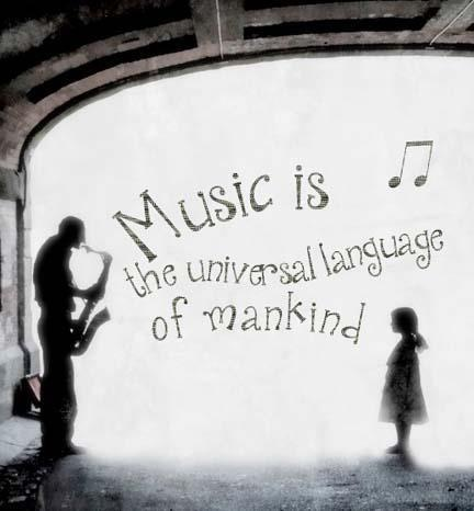 Music ♪...the universal language