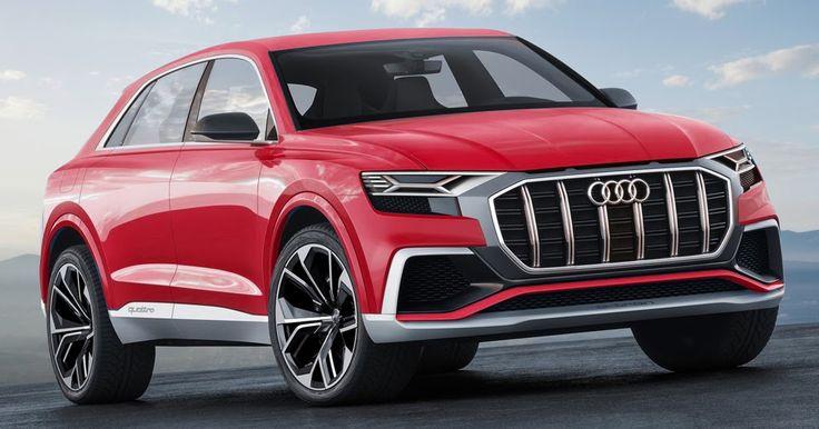 Audi Plotting RS Q8 Performance Crossover For Geneva Debut #Audi #Audi_Concepts