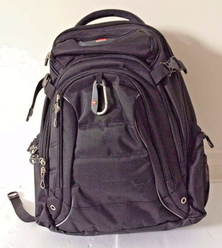 Swiss Gear Rainproof Black Backpack for 17.3-Inch Notebook Computer NWD | Computers/Tablets & Networking, Laptop & Desktop Accessories, Laptop Cases & Bags | eBay!