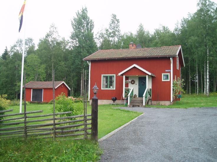 Zweden hout huisje