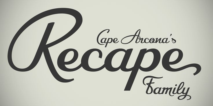 Cape Arcona Type Foundry released a brilliant new typeface, CA Recape.   http://www.cape-arcona.com/recape
