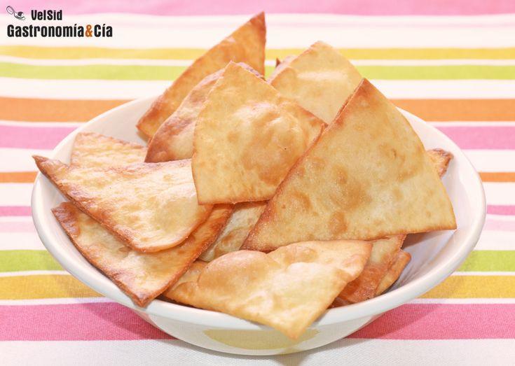 Cómo hacer nachos con tortillas mexicanas