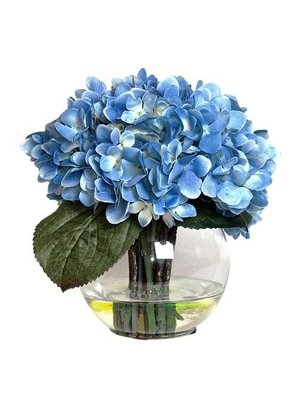 Tall Hydrangea Centerpieces For Weddings | Tall ... |Country Hydrangeas Vase