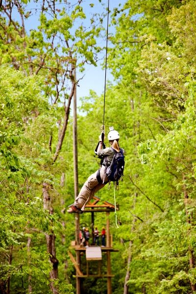 """Branson Zipline & Canopy Tours are great way to see """"new"""" things in Branson!"""