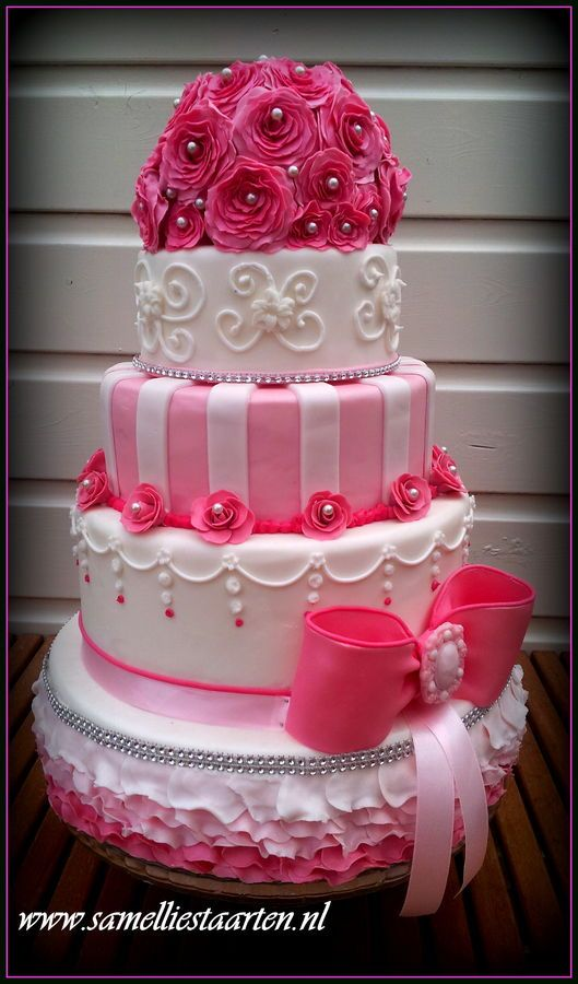 pink wedding cake design 17 best images about s sweet 16 ideas on 18591