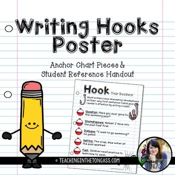 writing hooks The hooks for essays are actually the baits for readers while writing any essay, one has to make sure that the topic you choose and the overall article must be appealing to the audience this way one will be able to grab the attention of readers.